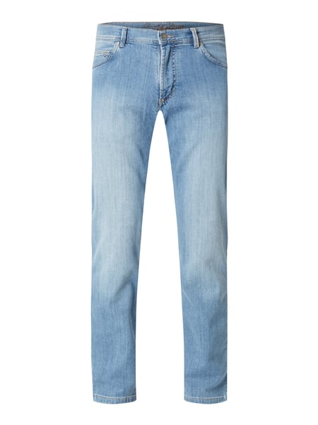 Christian Berg Men Regular Fit Jeans aus Soft Denim Blau - 1