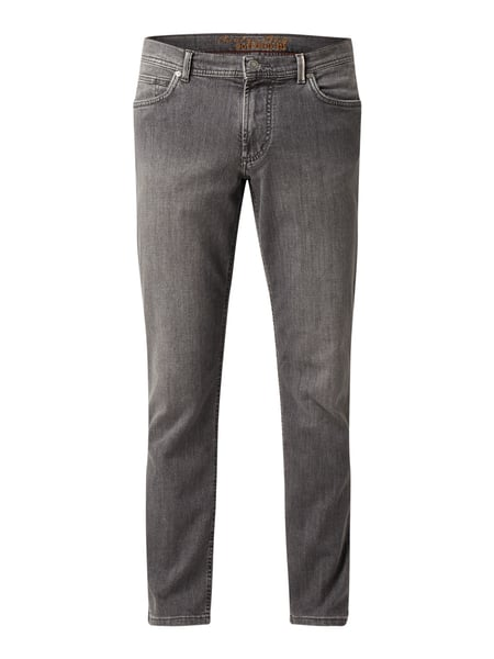 Christian Berg Men Regular Fit Jeans aus Soft Denim Grau - 1