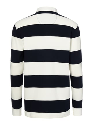Christian Berg Men Rugby-Shirt aus Baumwolle Offwhite - 1