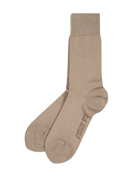 Christian Berg Men Socken im 2er-Pack Beige - 1