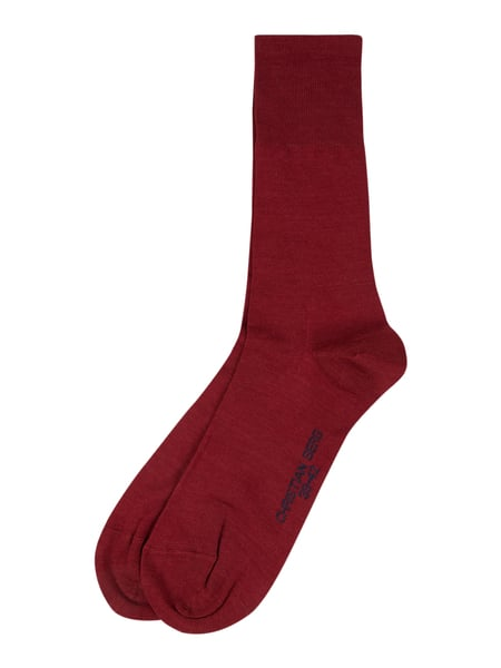 Christian Berg Men Socken im 2er-Pack Rot - 1
