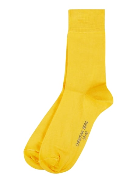 Christian Berg Men Socken im 2er-Pack Gelb - 1