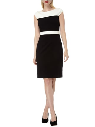 Christian Berg Woman Selection Jerseykleid mit Kappärmeln in Grau / Schwarz - 1