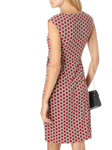 CHRISTIAN-BERG-WOMAN-SELECTION Kleid in Wickeloptik in Rot online ... a5c3b96e92