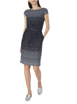 Christian Berg Woman Selection Kleid mit Taillengürtel in Blau / Türkis - 1