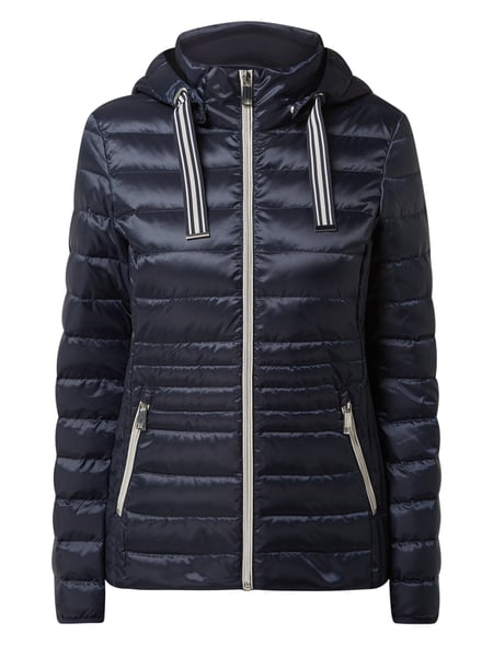 Christian Berg Woman Selection Light-Daunenjacke mit abnehmbarer Kapuze Blau - 1