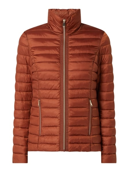 Christian Berg Woman Selection Light-Steppjacke mit Stehkragen - wattiert Braun - 1