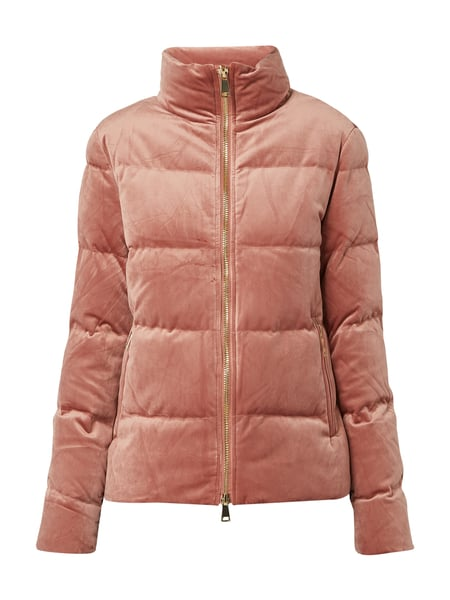Christian Berg Woman Selection Steppjacke aus Samt - wattiert Rosé - 1
