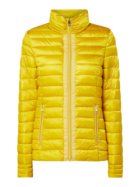 Christian Berg Woman Selection Steppjacke mit Stehkragen Gelb - 1