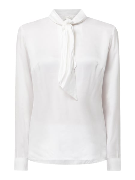 Christian Berg Women Blusenshirt in schimmernder Optik Weiß - 1