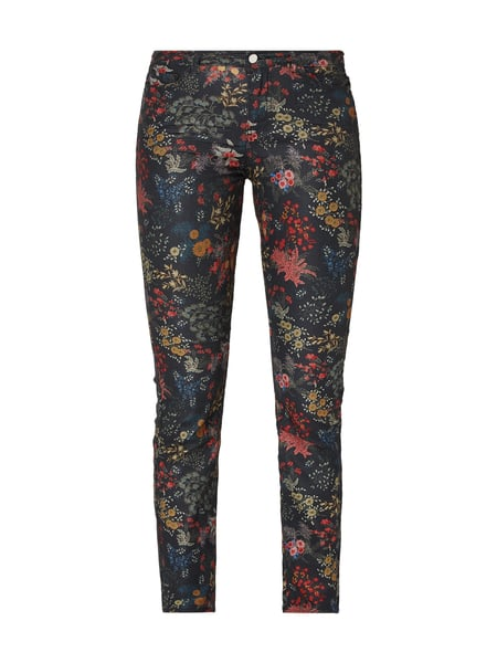CHRISTIAN BERG WOMEN Coloured Skinny Fit Jeans mit