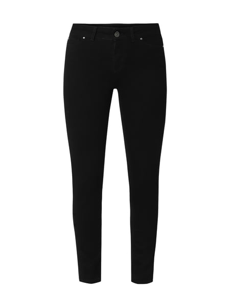 Christian Berg Women Coloured Skinny Fit Jeans Schwarz - 1