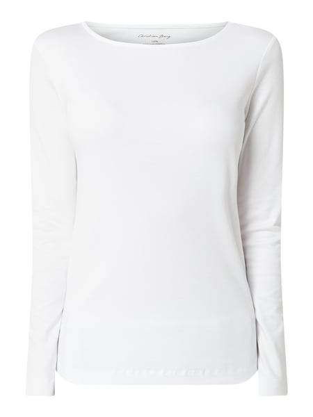 Christian Berg Women Longsleeve aus Organic Cotton Weiß - 1