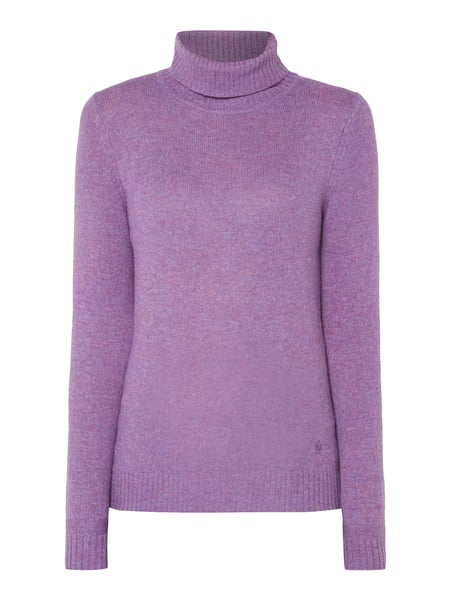 Christian Berg Women Pullover aus Wolle Lila - 1