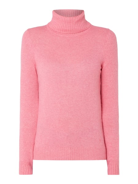Christian Berg Women Pullover aus Wolle Rosé - 1