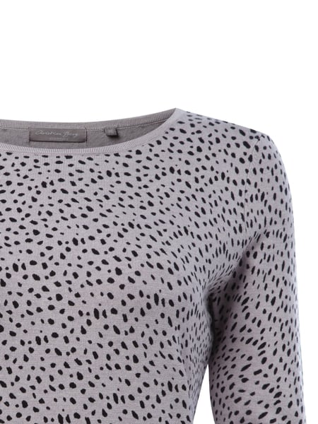 214fb612cecce6 CHRISTIAN-BERG-WOMEN Pullover mit Animal-Muster in Weiß online ...
