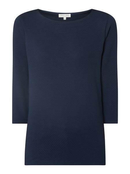 Christian Berg Women Shirt mit 3/4-Arm Blau - 1