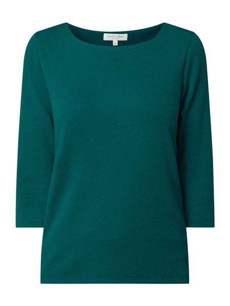 Christian Berg Women Shirt mit 3/4-Arm Türkis - 1