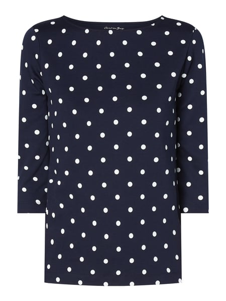 Christian Berg Women Shirt mit Allover-Muster Blau - 1