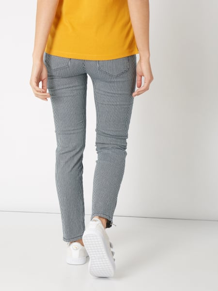Skinny Fit Jeans mit Streifenmuster Christian Berg Hy2nx7T8