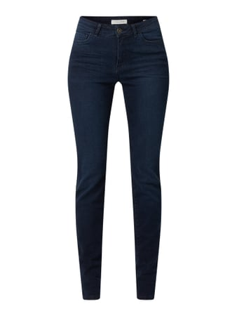 Christian Berg Women Skinny Fit Jeans mit Stretch-Anteil Blau - 1