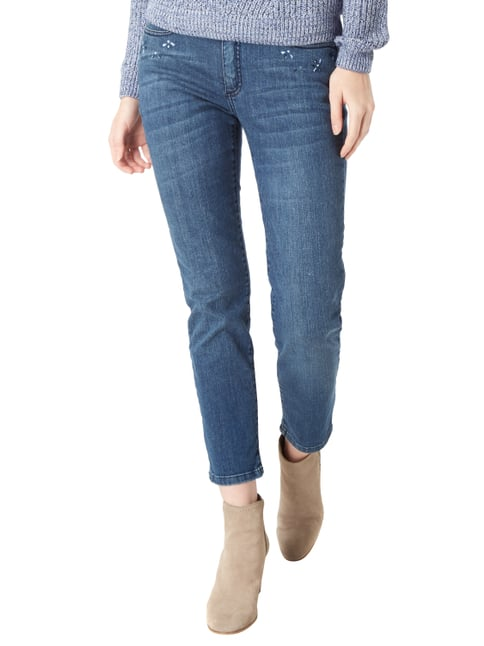Christian Berg Women Stone Washed Slim Fit Jeans Jeans - 1