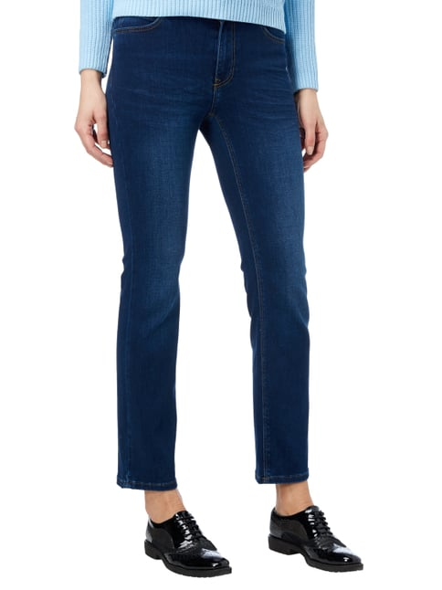 Christian Berg Women Stone Washed Straight Fit 5-Pocket-Jeans Jeans - 1
