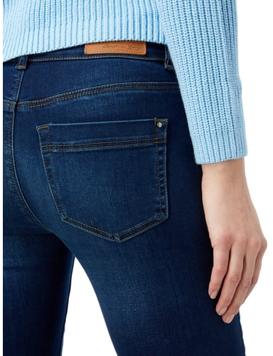 Stone Washed Straight Fit 5-Pocket-Jeans Christian Berg Women online kaufen - 1