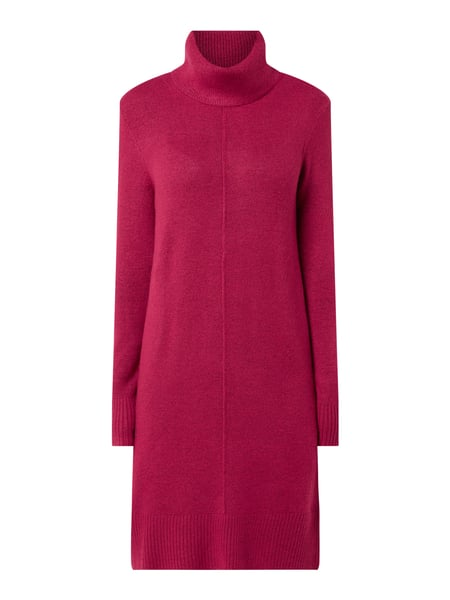 Christian Berg Women Strickkleid mit Rollkragen Rosa - 1