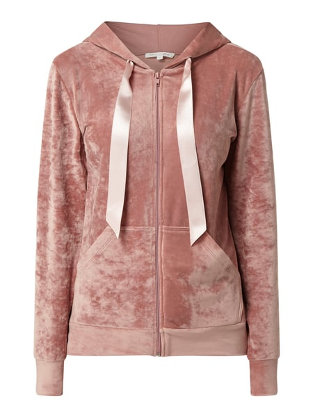 Christian Berg Women Sweatjacke aus Nicki Rosa - 1