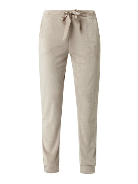 Christian Berg Women Sweatpants aus Nicki Beige - 1