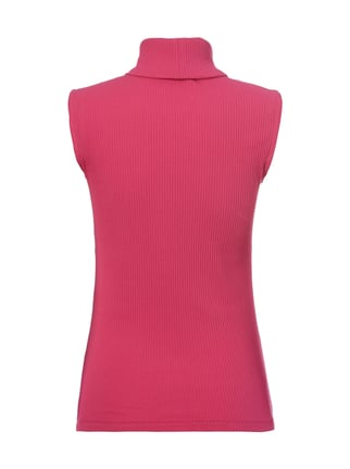 Christian Berg Women Top mit Rollkragen Pink - 1