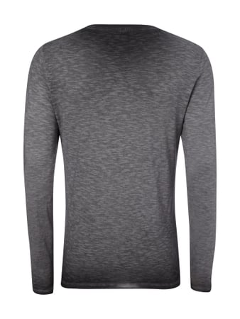 Cinque Longsleeve im Washed Out Look Anthrazit - 1