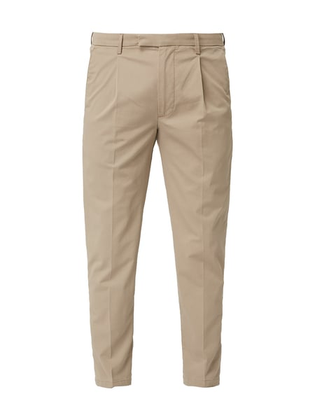 Cinque Tapered Fit Chino mit Bundfalten Beige - 1