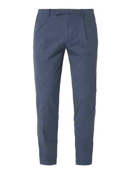 Cinque Tapered Fit Chino mit Bundfalten Blau / Türkis - 1
