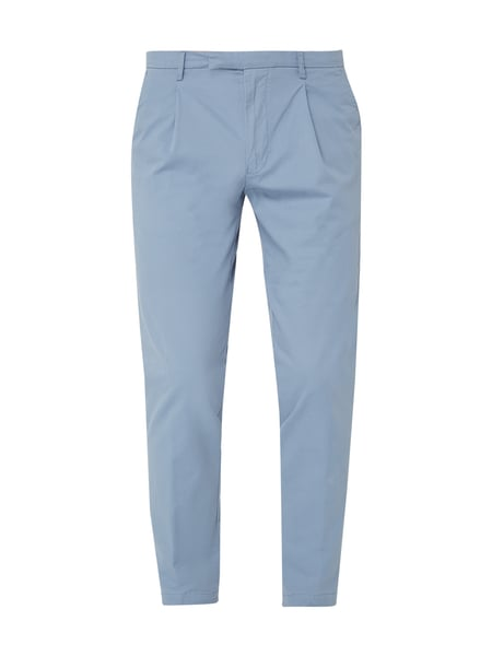 Cinque Tapered Fit Chino mit Bundfalten Blau - 1