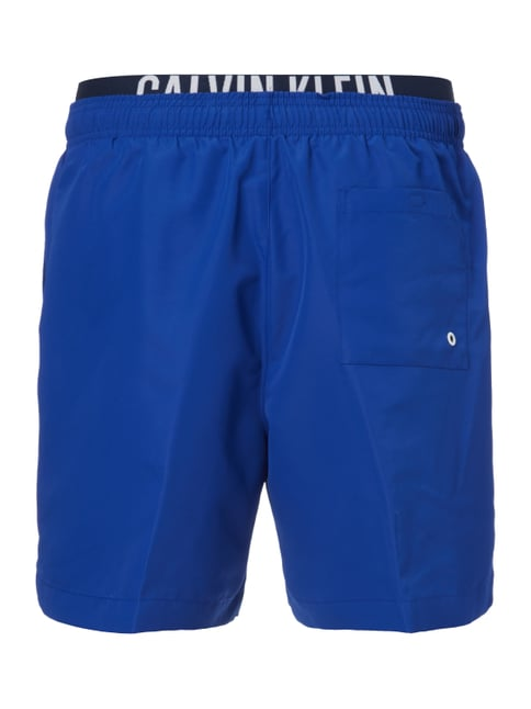 Calvin Klein Badeshorts im Double-Layer-Look Blau - 1
