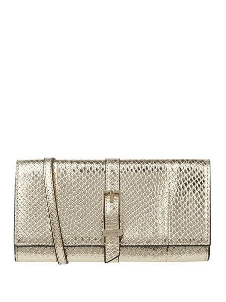 CK Calvin Klein Clutch in Snake-Optik Gold - 1