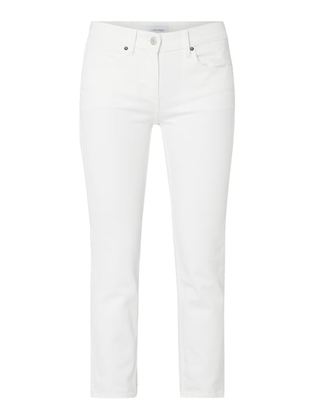 Calvin Klein Coloured Cropped Jeans Weiß - 1