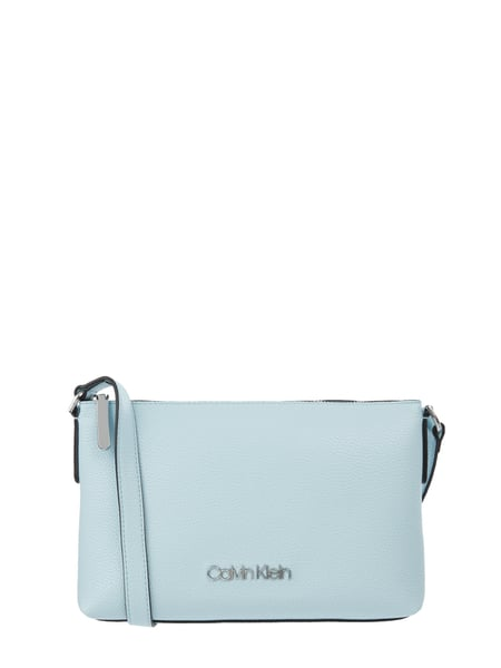 Calvin Klein Crossbody Bag mit Logo-Applikation Blau - 1