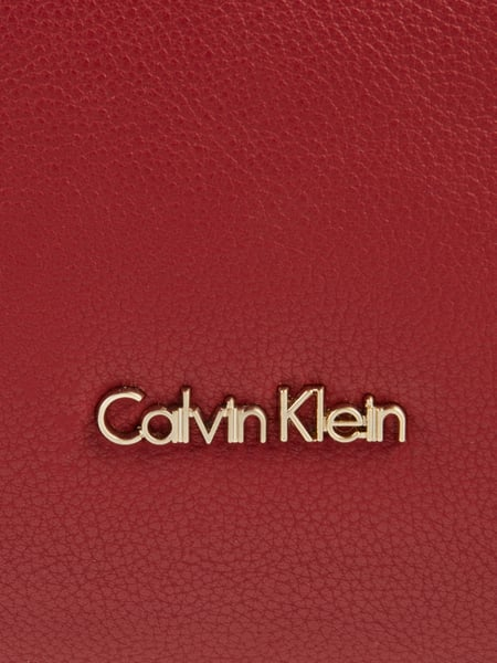 calvin klein shopper mit optionalem schulterriemen in rot online kaufen 9732345 p c online shop. Black Bedroom Furniture Sets. Home Design Ideas