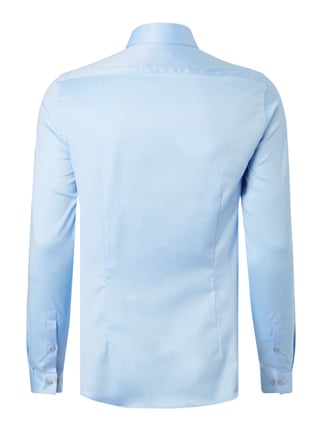 Calvin Klein Slim Fit Business-Hemd mit Webstruktur Bleu - 1