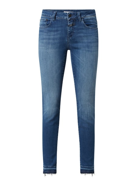 Closed BCI Slim Fit Jeans mit Stretch-Anteil Blau - 1