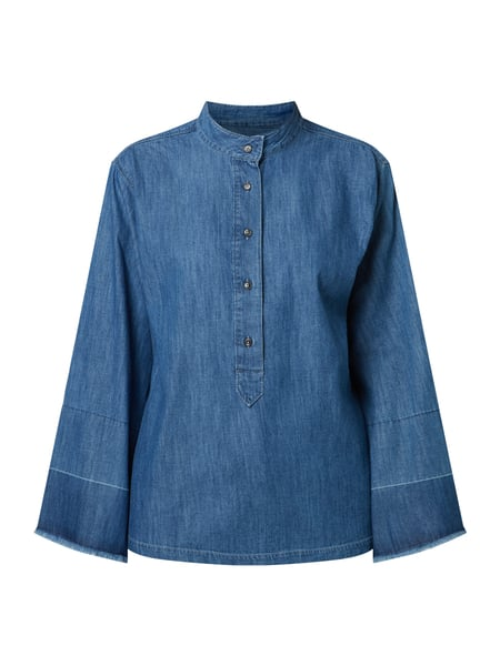 Closed Blusenshirt aus Denim Blau - 1