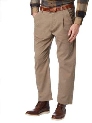 Closed Chino mit Rippenstruktur Beige - 1