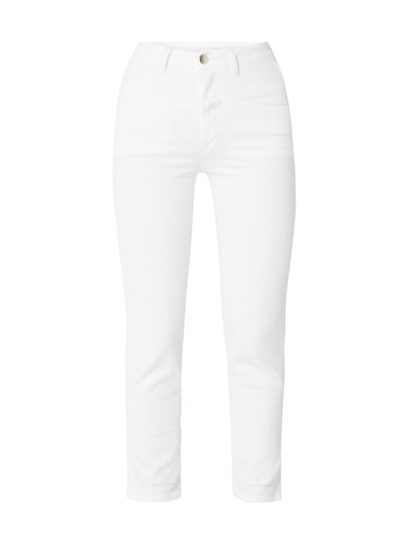 Closed Pedal Pusher - Coloured High Waist Jeans Weiß