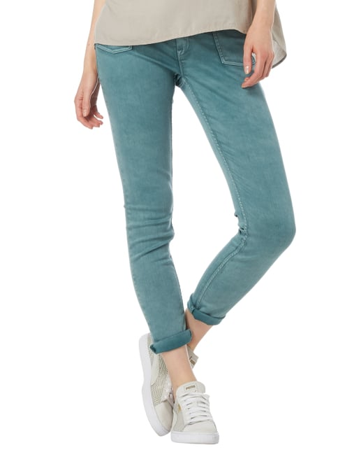 Closed Coloured Skinny Fit Jeans Grün - 1