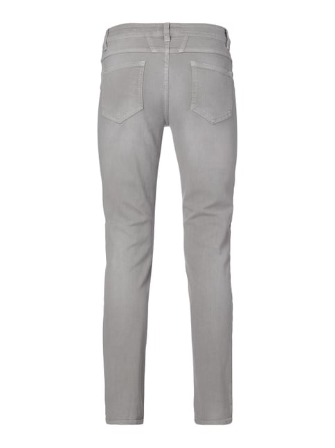 Closed Coloured Skinny Fit Jeans mit vier Taschen Taupe - 1
