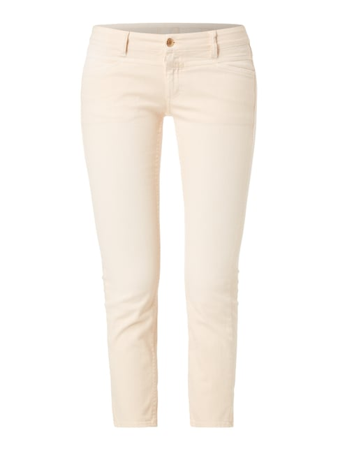 Coloured Skinny Fit Jeans Rosé - 1