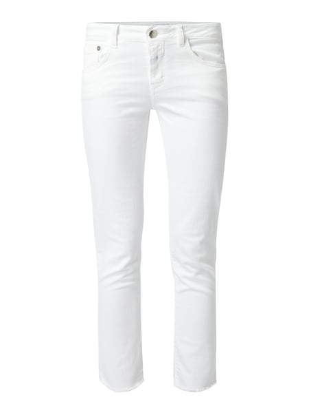 Closed Baker - Coloured Slim Fit 5-Pocket-Jeans Weiß